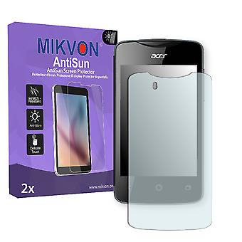 Acer Liquid Z3 Duo Screen Protector - Mikvon AntiSun (Retail Package with accessories)