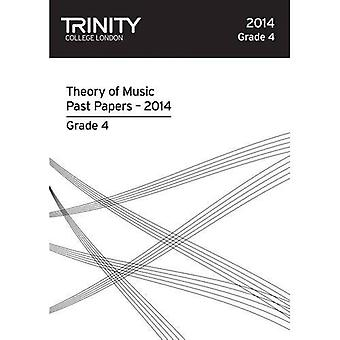 Trinity College London Music Theory Past Papers (2014) Grade 4