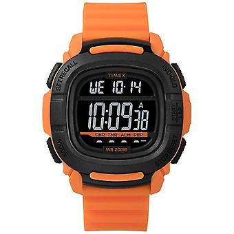 Timex | Zwiększyć szok pomarańczowy i czarny cyfrowy | Zegarek TW5M26500SU