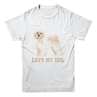 Official Pet-Selfie T-Shirt - Love my dog