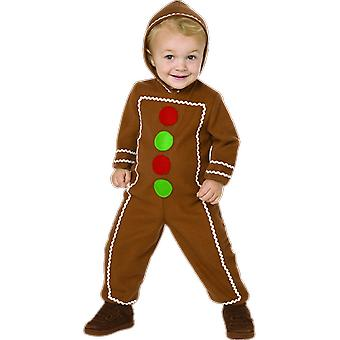 Orion Costumes Kids Gingerbread Man Christmas Fairytale Book Day Fancy Dress