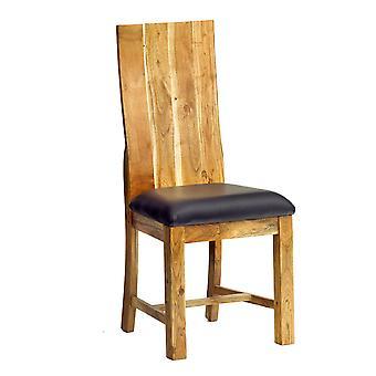 Stone Acacia Dining Chair - A Pair