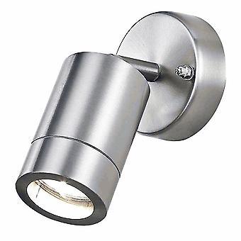 Stainless Steel Aluminium Outdoor IP44 Adjustable Wall Light