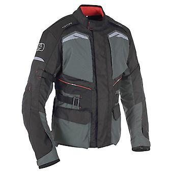 Oxford grey Quebec 1,0 giubbotto moto impermeabile