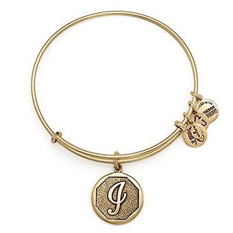 Alex et Ani initiale I or bracelet A13EB14IG