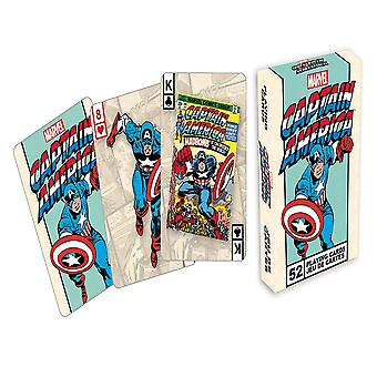 Marvel Captain America retro spille kort