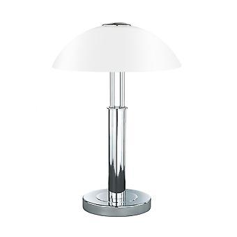 Wofi Prescot - 2 Light Table Lamp Chrome - 8747.02.01.0000