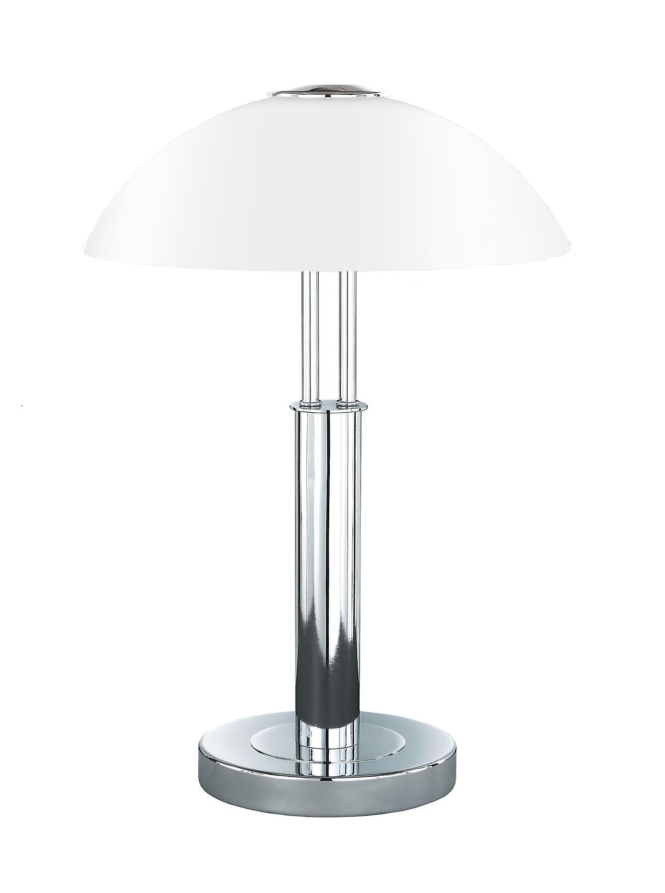 Wofi Prescot - 2 lumière Table Lamp Chrome - 8747.02.01.0000