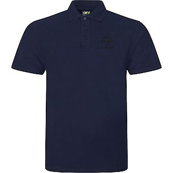 Royal Regiment Of Fusiliers Text - Licensed British Army Embroidered RTX Polo