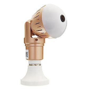 360 degree panoramic 1080p wifi camera light bulb mini security ip camera