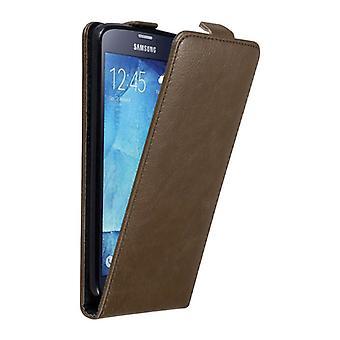 Cadorabo-kotelo Samsung-galaksille S5/S5 NEO-kotelon suojus-puhelimen kotelo Flip-suunnittelussa magneettisella Sulkemilla-kotelo kotelo kotelo, jossa tapa uksessa kirja taitto tyyli