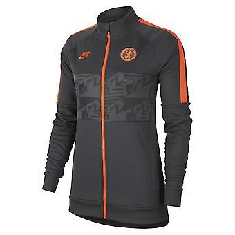 2019-2020 Челси Nike I96 Куртка (Антрацит) - женщины