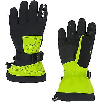 Spyder OVERWEB Gore-Tex Boys Ski Gloves lime