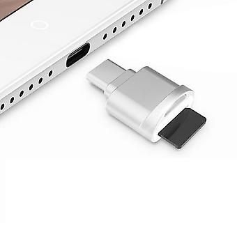 USB-C / Type-C 3.1 naar Micro SD (TF) Kaartlezer Adapter
