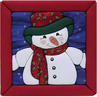 Snowman Quilt Magic Kit 6