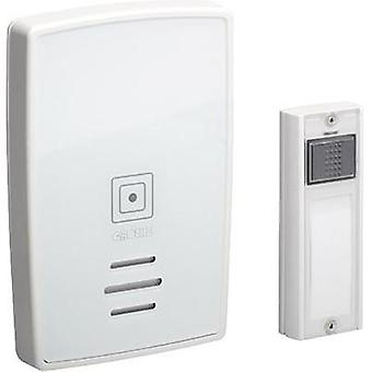 Wireless door chime Complete set with nameplate Grothe 43251