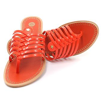 Grendha Brasil Strings Thong Coral Womens Thong Sandals