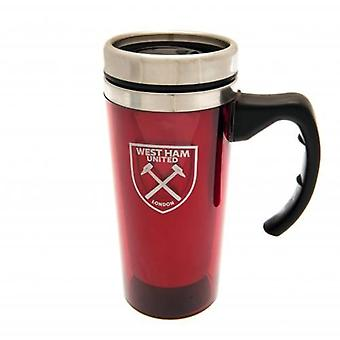 West Ham United Aluminium Travel Mug