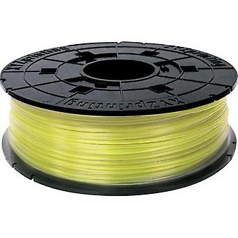 Filament XYZprinting RFPLCXEU03J PLA plastic 1.75 mm Yellow (clear) 600 g