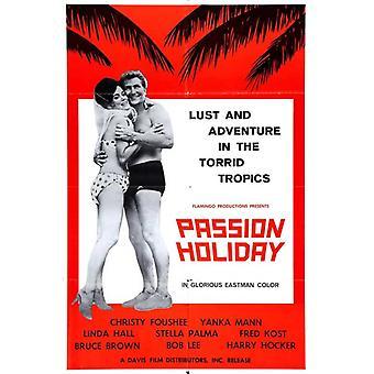 Lidenskap ferie film plakatutskrift (27 x 40)