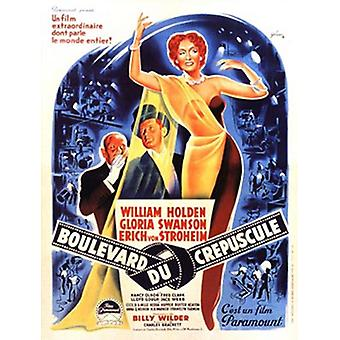 Sunset Boulevard Movie Poster (11 x 17)