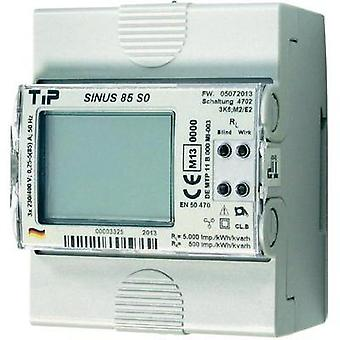 Electricity meter (3-phase) digital MID-approved: Yes TIP SINUS 85 S0