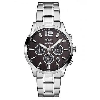 s.Oliver mannen horloge horloge RVS SO-3173-MC