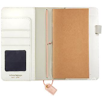 Color Crush Faux Leather Travelers' Planner 5.75