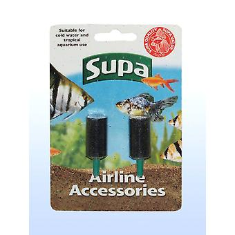Supa Airline Airstone Carded 2pack (Pack of 12)