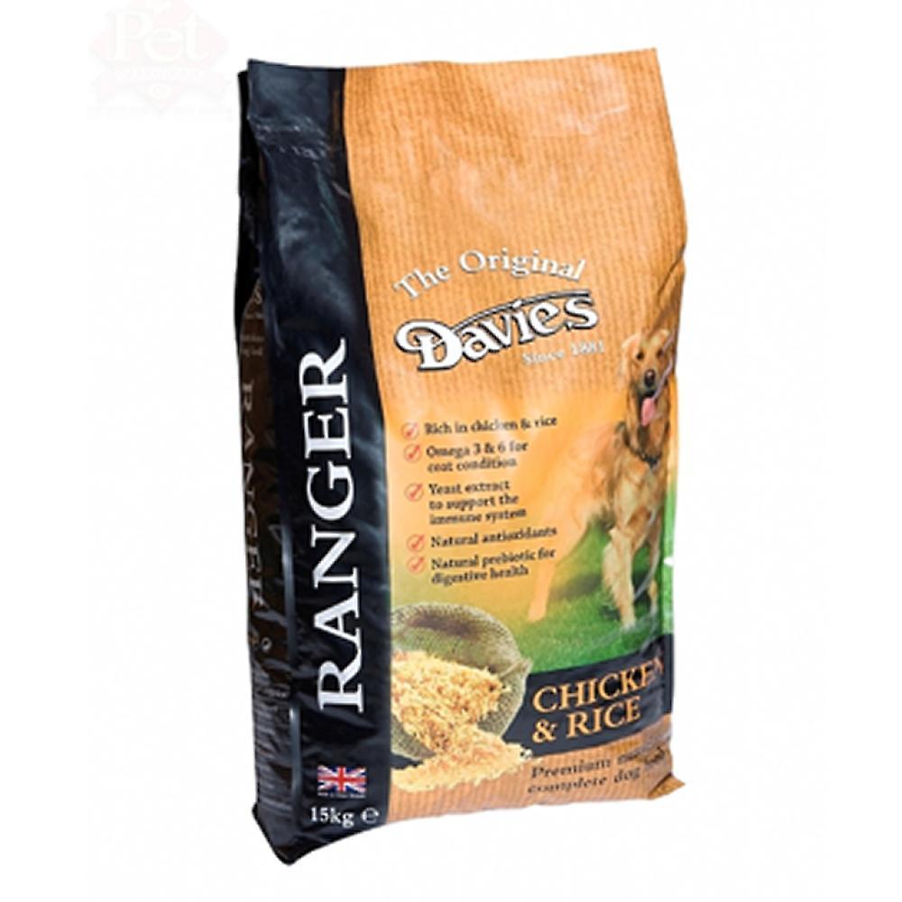 Davies Ranger Chicken & Rice Complete 15kg Pmp ú24.99