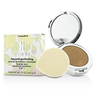 Clinique Beyond Perfecting Powder Foundation + Corrector - # 11 Honey (MF-G) - 14.5g/0.51oz