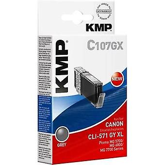 KMP Ink replaced Canon CLI-571GY XL Compatible Gr