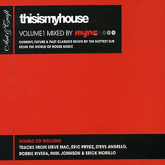 Thisismyhouse - Thisismyhouse: Vol. 1-Mync projekt [CD] USA import