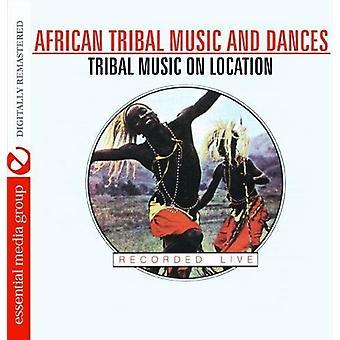 Afrikanska Tribal musik & danser: Tribal musik på Loc - afrikanska Tribal musik & danser: Tribal musik på Loc [CD] USA import