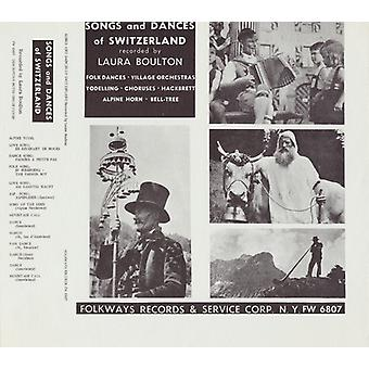 Songs & Dances of Switzerland - Songs & Dances of Switzerland [CD] USA import