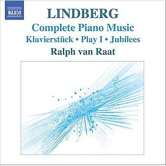 M. Lindberg - Magnus Lindberg: Complete Piano Music [CD] USA import