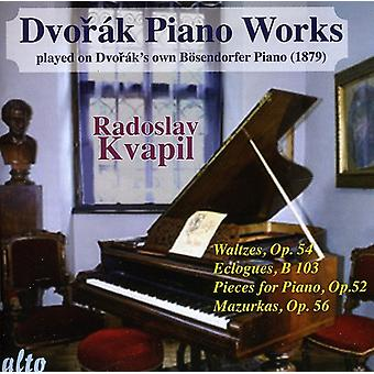 A. Dvorak - Dvor K: Piano Works Played on Dvor K's Own B Sendorfer Piano, Vol. 2 [CD] USA import