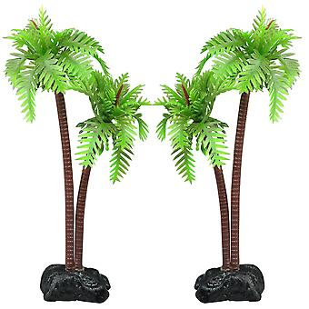 DIGIFLEX Aquarium Fish Tank Palm Trees Landscaping Ornament