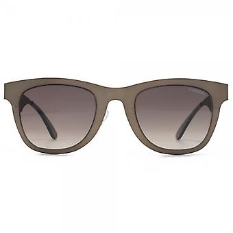 Carrera 6000 Metal Sunglasses In Matte Brown