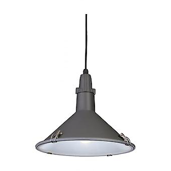 Firstlight Modern Scandinavian Anthracite Outdoor Hanging Pendant Light