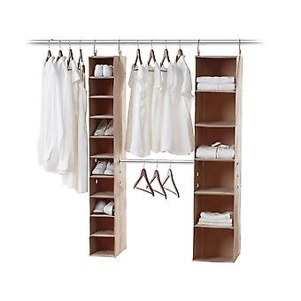 Neatfreak Closet System 3 piece Kit (Beige)