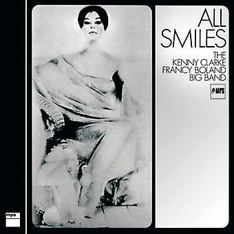 Kenny Clarke - alle smiler - Kenny Clarke Nicolai Boland store [Vinyl] USA importerer