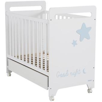 Micuna Istar Cradle 120x60 White / Sky (Home , Babies and Children , Bedroom , Cribs)