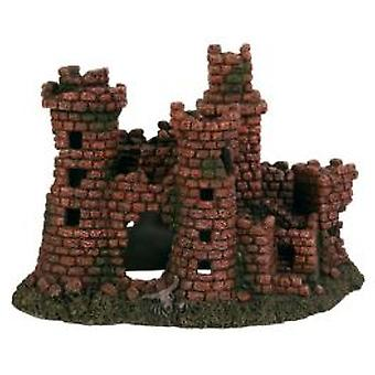 Trixie Castle ruin for akvarier 27 Cm. (fisk, dekorasjon, ornamenter)