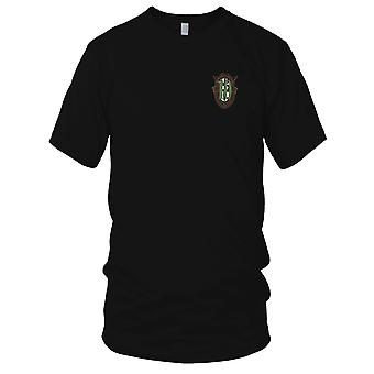 US Army - 10th Special Forces Group Crest OD Green 10 Embroidered Patch - Ladies T Shirt