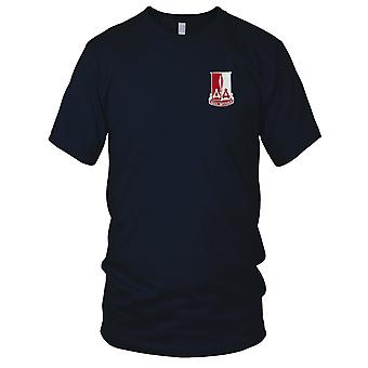 US Army - 871st Airborne Engineering Battalion Embroidered Patch - Mens T Shirt