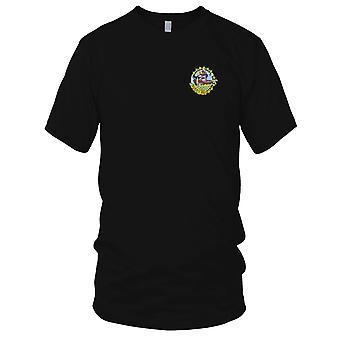 US Navy DD-613 USS Laub WWII Embroidered Patch - Kids T Shirt