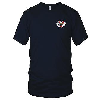 US Navy VA-4 Attack Squadron Four Embroidered Patch - Mens T Shirt