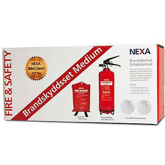 Nexa Fire & Safety Brandskyddsset Medium Red