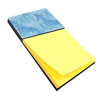 Carolines Treasures  BB7531SN Beach Watercolor Waves Sticky Note Holder